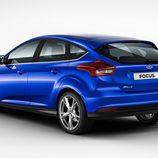 Ford Focus 2015 5 puertas tres cuartos trasero