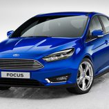 Ford Focus 2015 frontal agresivo