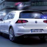 Volkswagen Golf GTE: 3/4 trasera izquierda