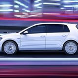 Volkswagen Golf GTE: Lateral