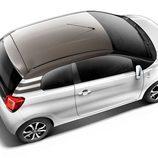 Citroën C1: Desde el aire