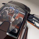 Techo acristalado del Volvo Concept Estate