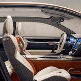 Volvo Concept Estate 2014 detalle de la butaca el pasajero