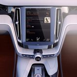 Volvo Concept Estate 2014 detalle de la pantalla central