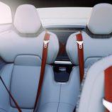 Volvo Concept Estate 2014 detalle de las butacas traseras