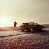 Volvo Concept Estate 2014 siluetas