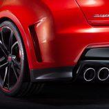 Detalle pasos de rueda traseros del Honda Civic Type-R Concept