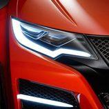 Faros delanteros LED en el Honda Civic Type-R Concept