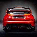 Honda Civic Type-R Concept vista trasera