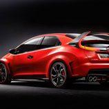 Honda Civic Type-R Concept vista tres cuartos tarsera