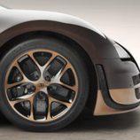 Detalle de las llantas del Bugatti Veyron Rembrandt Bugatti