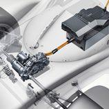Detalle unidad de energía Porsche 919 Hybrid