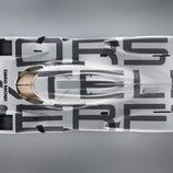 Porsche 919 Hybrid desde 'el aire'