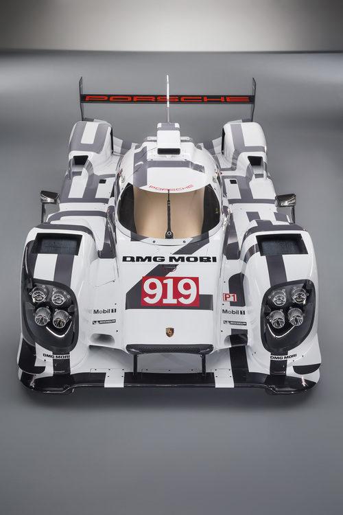 El Porsche 919 Hybrid en todo su esplendor