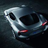Maserati Alfieri vista aérea
