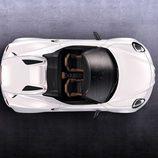 Alfa Romeo 4C Spider plano cenital
