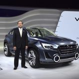 Presentación del Subaru VIZIV 2 CONCEPT en Ginebra 2014