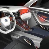 SsangYong XLV Concept: interior