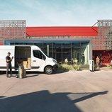 Renault presentó la nueva furgoneta Master Z.E.