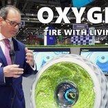 Goodyear presentó el novedoso Oxygene