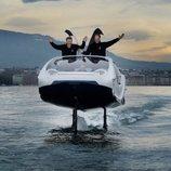 Los taxis acuáticos de Sea Bubble
