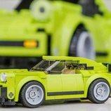 Lego luce un 911 a escala en el museo de Porsche