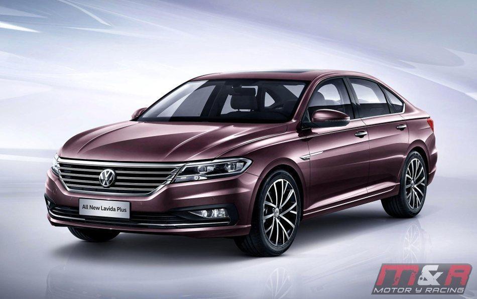 El Volkswagen Lavida Plus para Pekín
