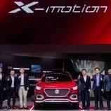 MG Anuncio el novedoso MG X-Motion
