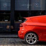 El Ford Fiesta Van 2019 para carga