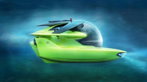 Aston Martin y Triton han creado el Proyect Neptune