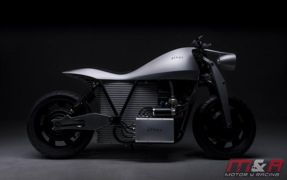 Conoce la Ethec, una nueva moto eléctrica