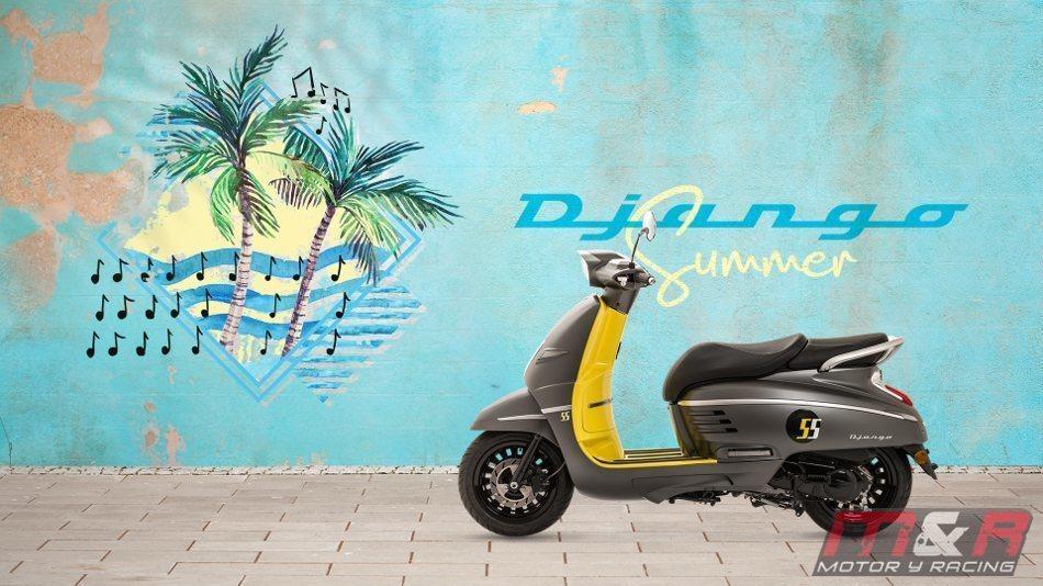 Conoce el nuevo Peugeot Django Summer