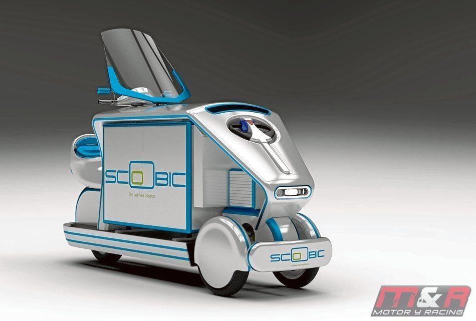 Conoce el Scoobic, el vehículo que utilizará Carrefour