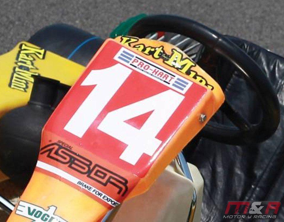 A la venta Go-Kart de Ayrton Senna