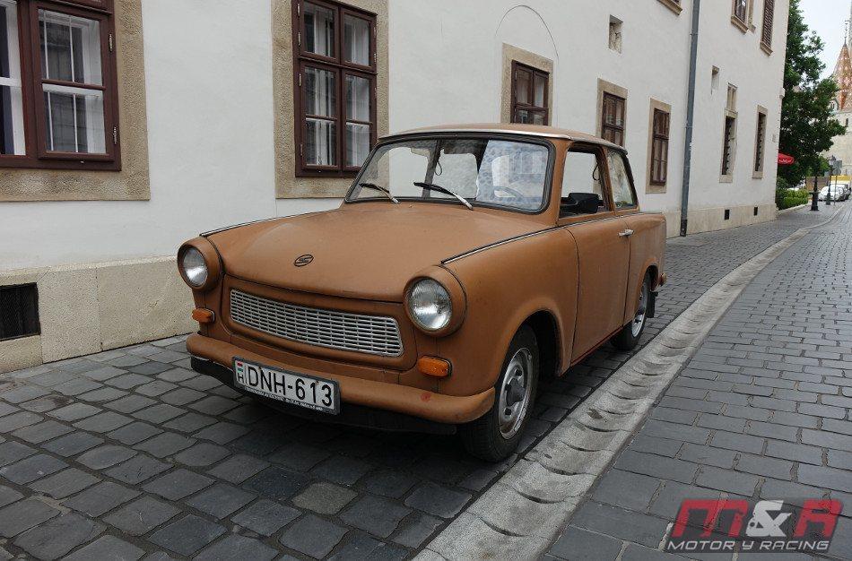 El Trabant, hecho con algodón y motor de dos tiempos