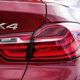 BMW X4: Piloto trasero