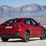 BMW X4: 3/4 trasera derecha