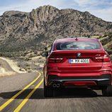 BMW X4: Trasera