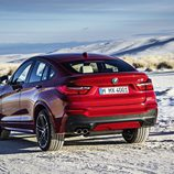 BMW X4: 3/4 trasera izquierda