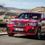 BMW X4: 3/4 delantera izquiera