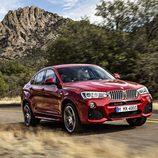 BMW X4: 3/4 delantera derecha