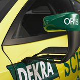 Detalle soporte retrovisor Audi RS5 DTM