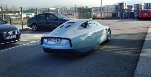 Volkswagen XL1: En marcha