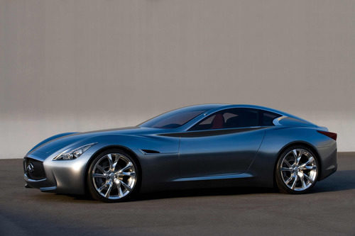 Infiniti Essence Coupe concept 2009 - lateral