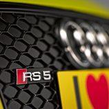 Detalle parrilla delantera Audi RS5 de Rockenfeller