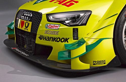Frontal detallado del Audi de Mike Rockefenller