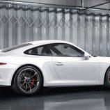 Porsche 911 GT3 (991) - blanco tres cuartos trasero