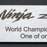 Logo Chasis Kawasaki ZX-10R de Tom Sykes