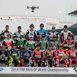 Los 23 pilotos del Mundial de MotoGP 2014