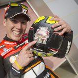 Detalle del casco de Aleix Espargaró